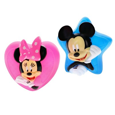 Disney Bath Squirters Mickey Mouse and Minnie Mouse - 2pk
