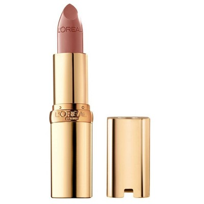 L'Oreal Paris Colour Riche Original Satin Lipstick For Moisturized Lips - 0.13oz