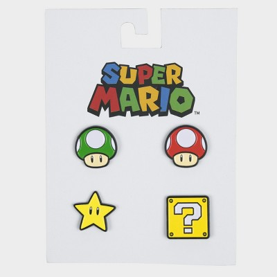 Nintendo Pin Set   Mario by Mario