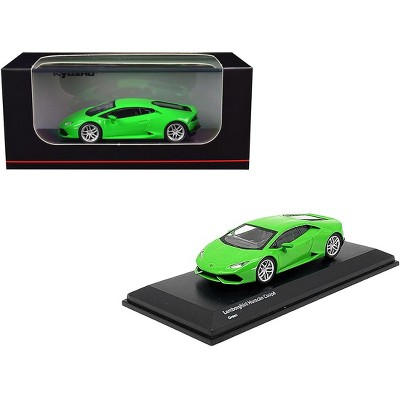 Lamborghini Huracan Coupe Bright Green 1/64 Diecast Model Car by Kyosho