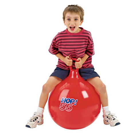 """Gymnic Hop 55 Ball Red 22"""" diameter - image 1 of 1"""