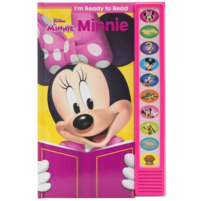 Disney Minnie Mouse: I'm Ready to Read - Sound Book (Hardcover)