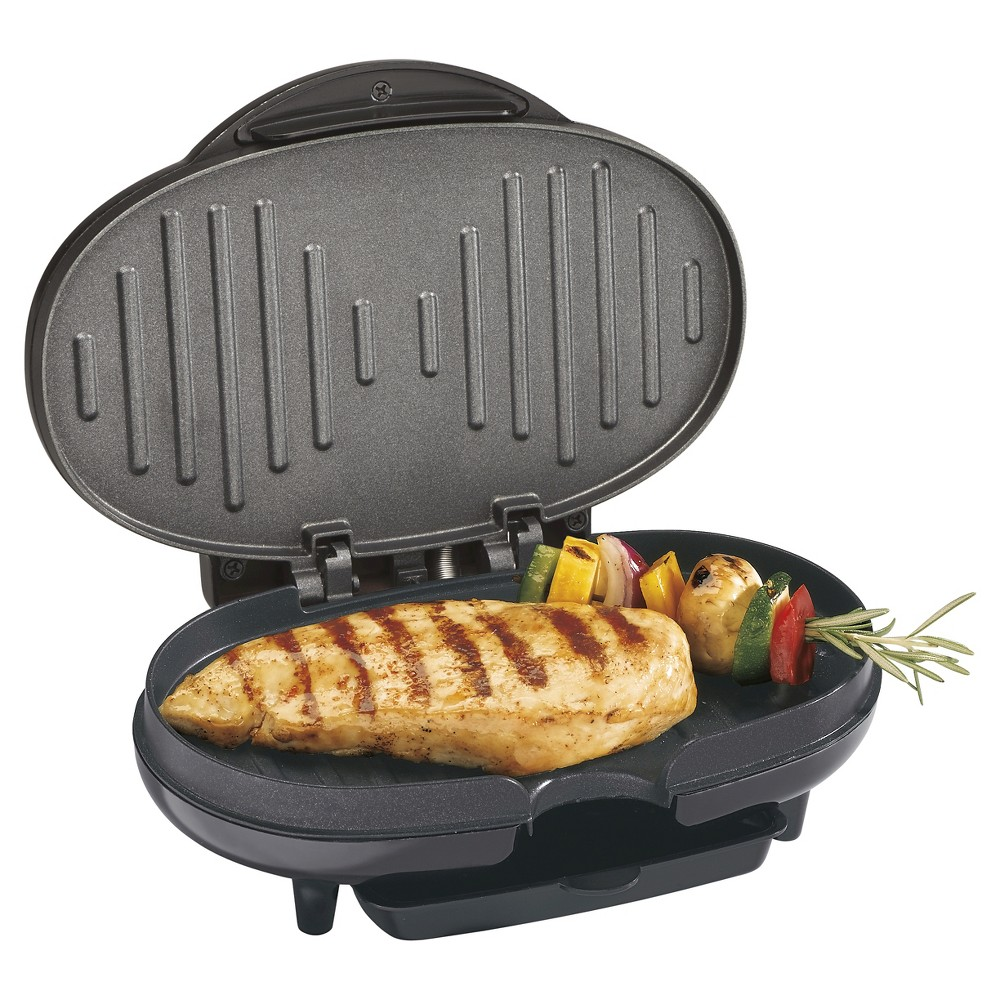 Image of Proctor Silex Compact Grill - Black - 25218P