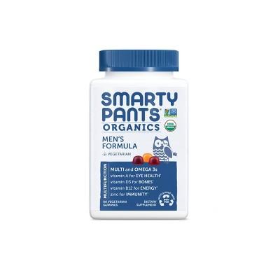 Multivitamins: SmartyPants Organics Men's Formula