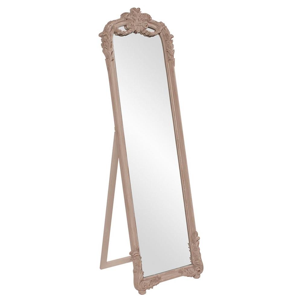 Rectangle Monticello Floor Mirror Vintage Antique Khaki - Howard Elliott