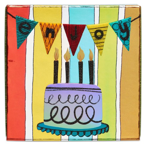 Papyrus Birthday Bunting Gift Card Holder Box Target