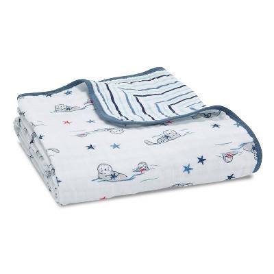Aden + Anais Essentials Muslin Blanket Seashore