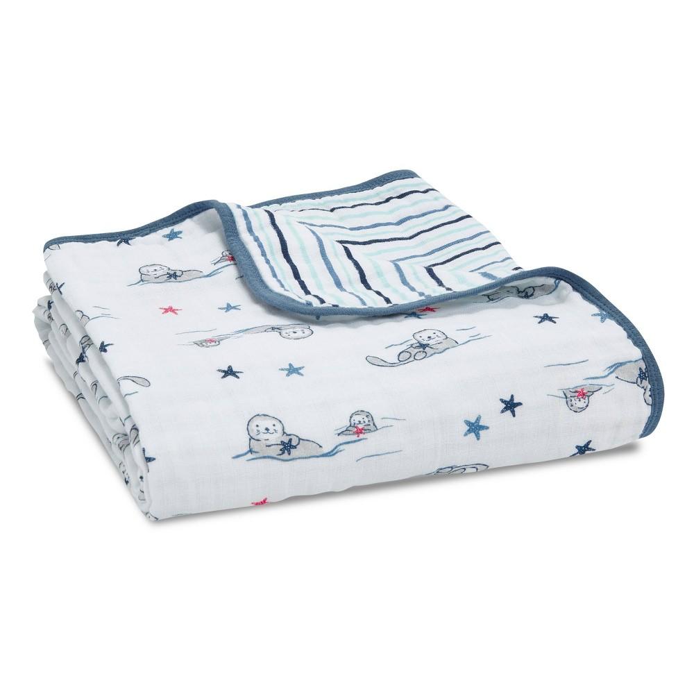 Image of Aden + Anais Essentials Muslin Blanket Seashore