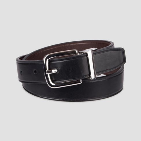 Boys' Reversible Belt - Cat & Jack™ Black - image 1 of 2