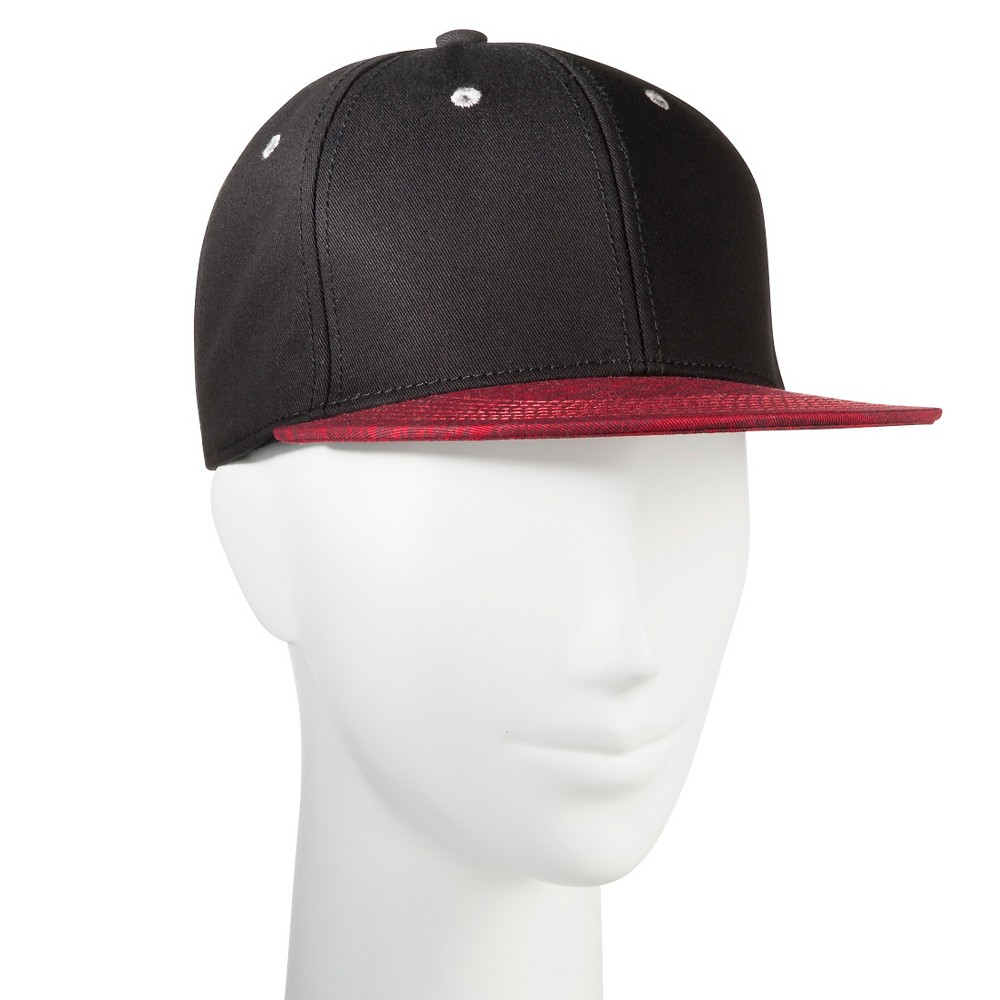 Men's Aztec Brim Snapback Hat Black