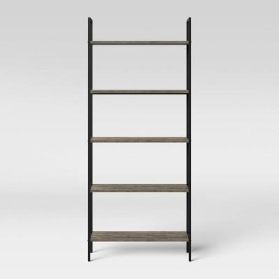 "72"" 5 Shelf Loring Ladder Bookshelf Gray - Project 62™"