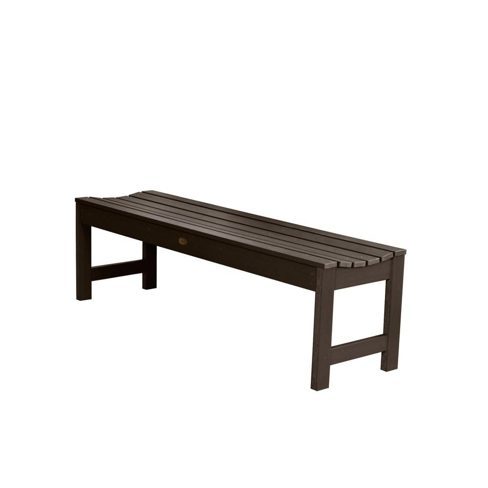Lehigh Picnic Bench 4ft Weathered Acorn - Highwood