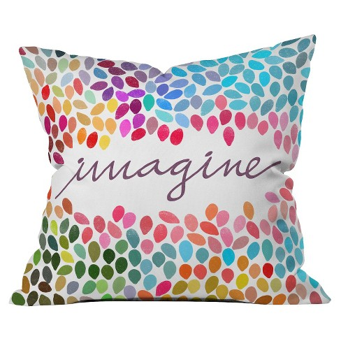 Imagine Throw Pillow - Deny Designs® - image 1 of 2