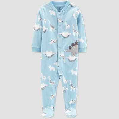 Baby Boys' Animal Sleep 'N Play - Just One You® made by carter's Light Blue 6M