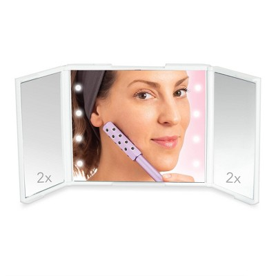 Plum Beauty Mini LED Mirror