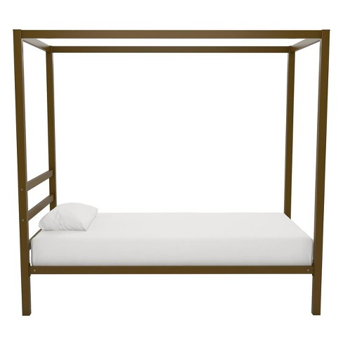 Modern Canopy Bed Gold - Dorel Home Products : Target