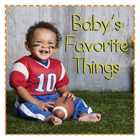 Baby's Favorite Things - (Baby Firsts) (Board_book) - image 1 of 1