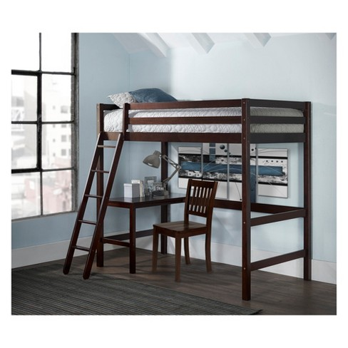 Twin Caspian Study Loft With Chair Hillsdale Target