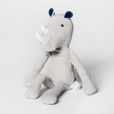 Rhino Gray Throw Pillow - Pillowfort™