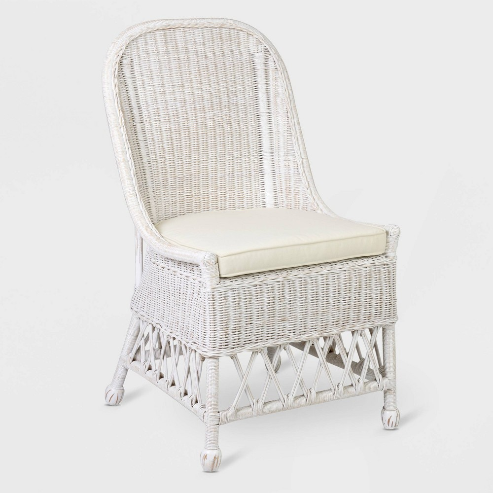 Kristine Dining Chair White - East At Main