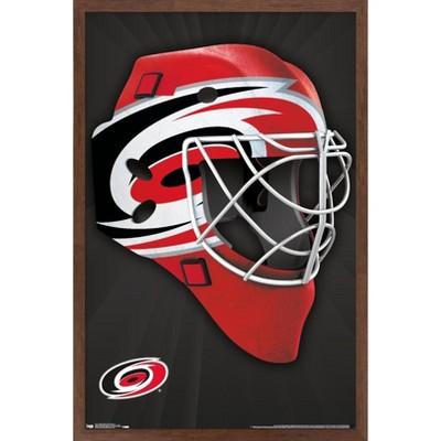 Trends International NHL Carolina Hurricanes - Mask 16 Framed Wall Poster Prints