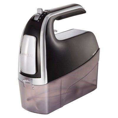 Hamilton Beach 6-Speed Open Handle Hand Mixer with Case - Black 62620T