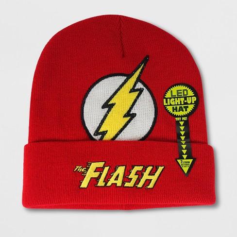 Men s Flash Beanie - Red One Size   Target 6b8e9125cbb