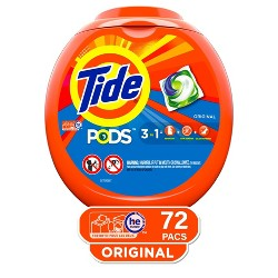 Tide Pods Laundry Detergent Pacs Original