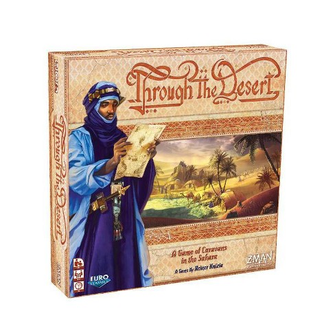 Fantasy Flight Games Through the Desert Board Game - image 1 of 4