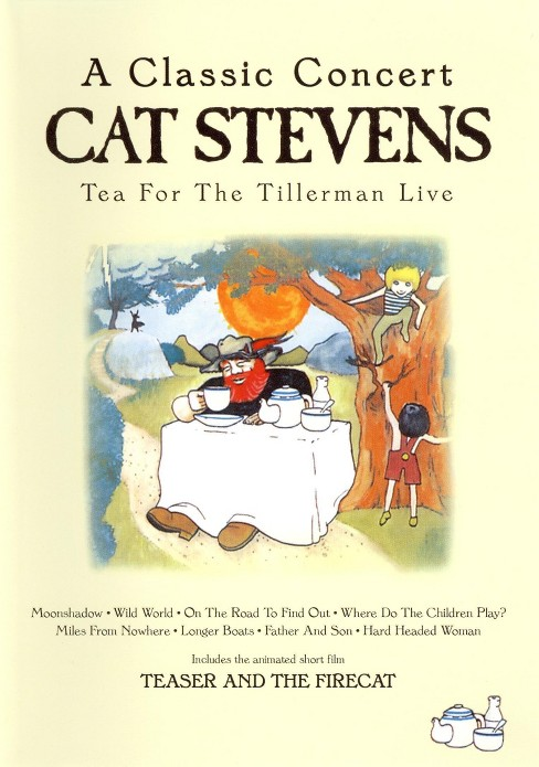 Tea for the tillerman:Live (DVD) - image 1 of 1