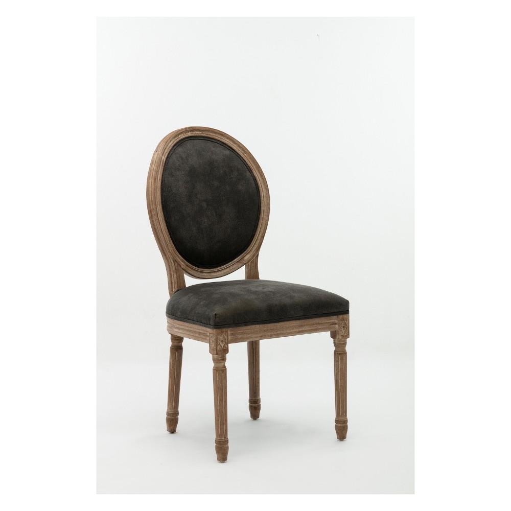 Joy Dining Chairs W. Nailheads Antique (Set of 2) - Boraam, Brown