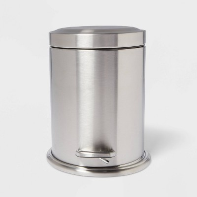 Stepcan Wastebasket Brushed Nickel - Threshold™
