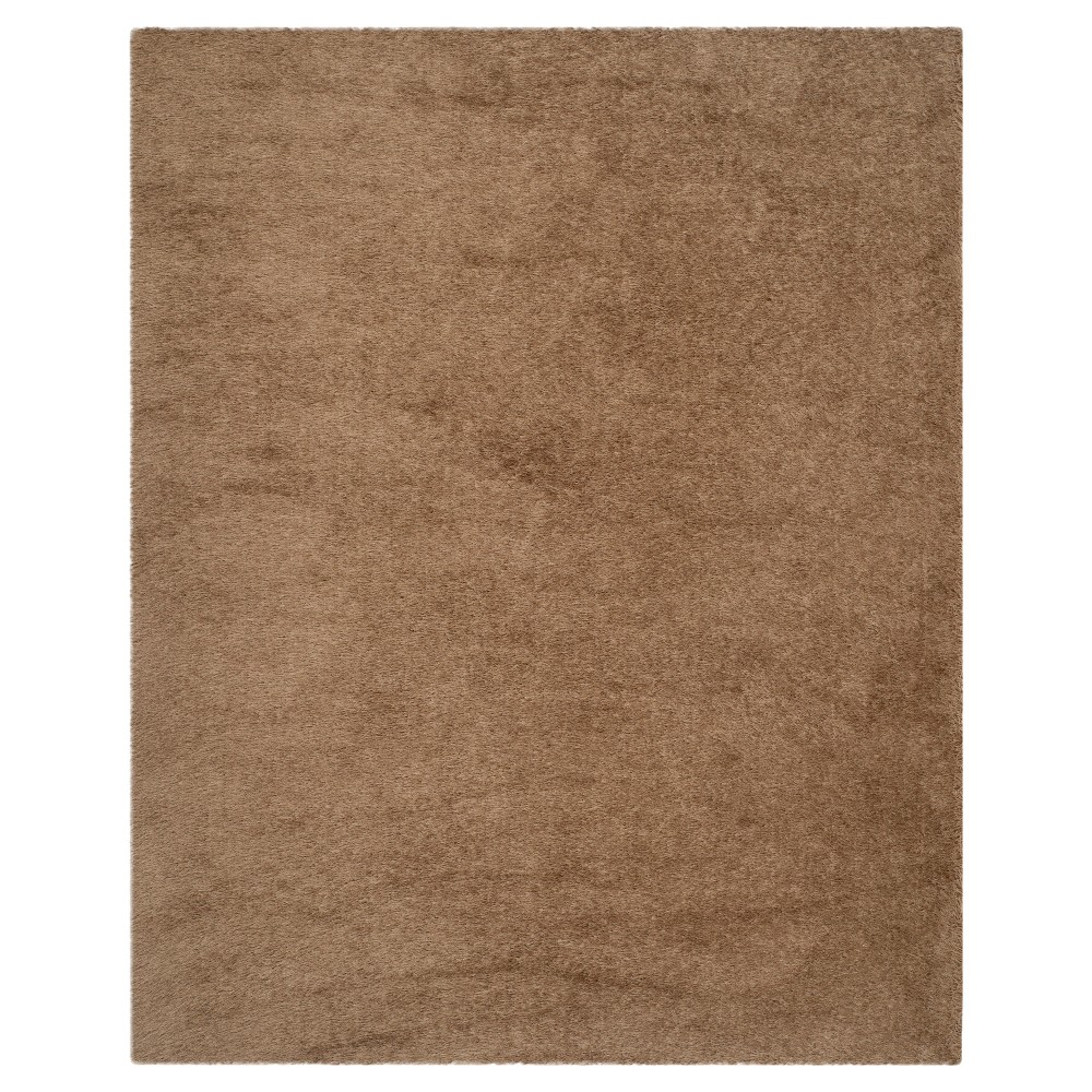 Taupe (Brown) Solid Tufted Area Rug - (8'x10') - Safavieh