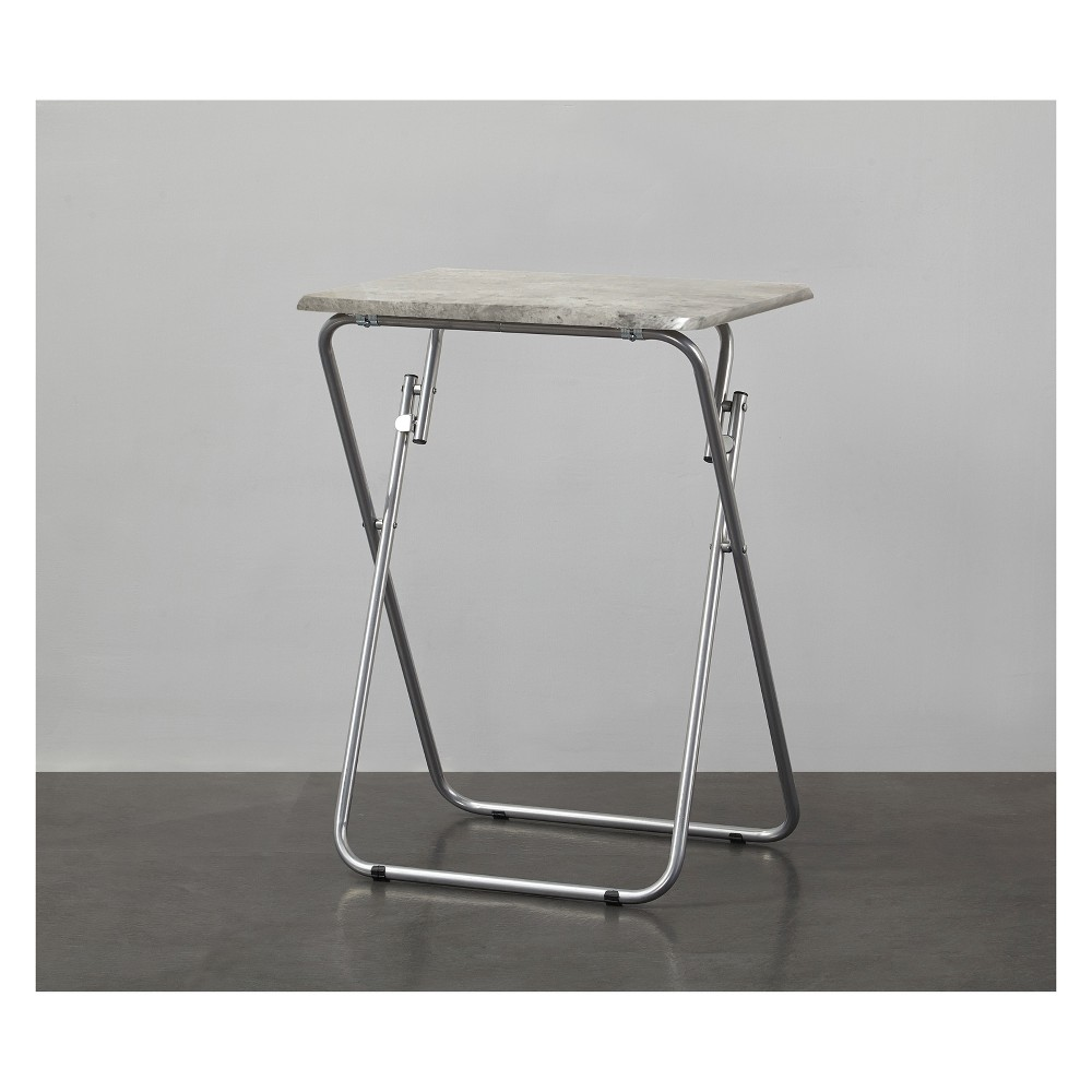 Folding Tray Table Gray - Project 101
