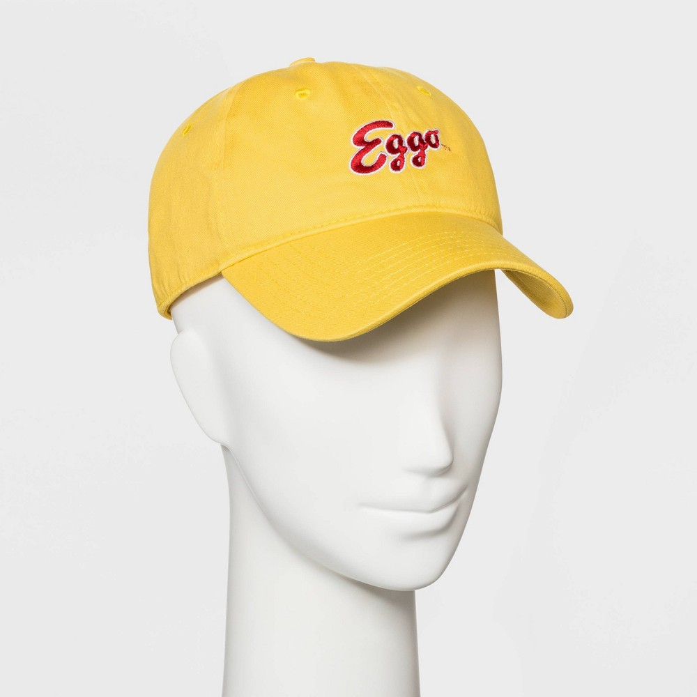Image of Eggo Kellogg's Baseball Hat - Yellow, Adult Unisex, Size: Small