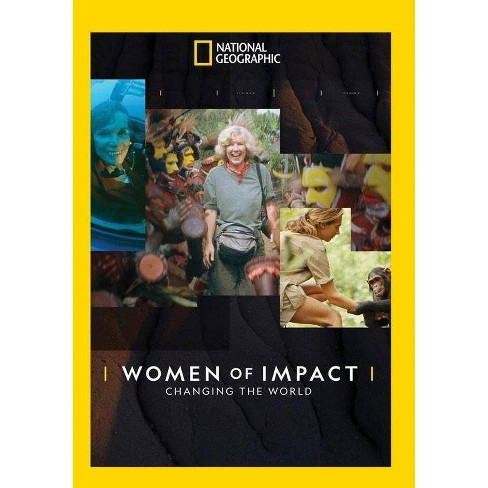 National Geographic: Women of Impact - Changing the World (DVD) - image 1 of 1