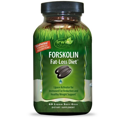 Irwin Naturals Forskolin Fat-Loss Dietary Supplement Soft-Gels - 60ct - image 1 of 1