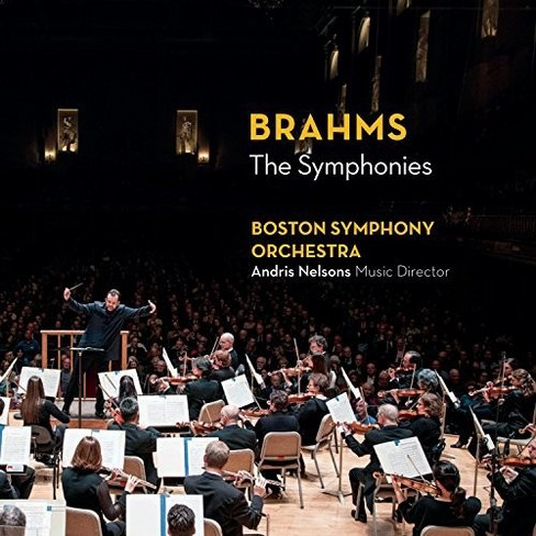Boston Symphony Orch - Brahms:Symphonies (CD) - image 1 of 1