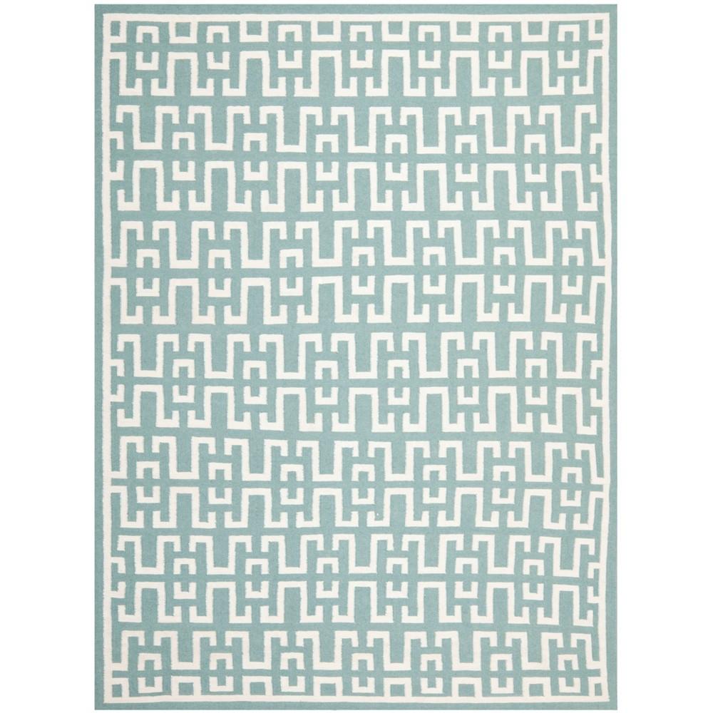 8'X10' Woven Geometric Area Rug Seafoam - Safavieh