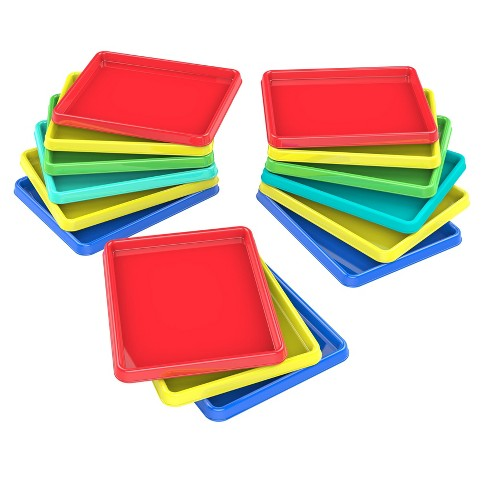 """Storex 8"""" x 9.5"""" 15pk Sorting and Crafts Tray - Multicolored - image 1 of 5"""