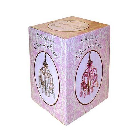 7dde6799d6c94 Tadpoles 3 Bulb Mini Chandelier - Pink