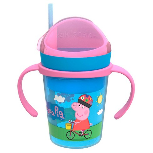 ZakSnak Peppa Pig Sippy Cup- 8oz. - image 1 of 5