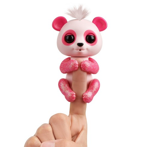 Fingerlings Interactive Baby Panda Polly Pink By Wowwee