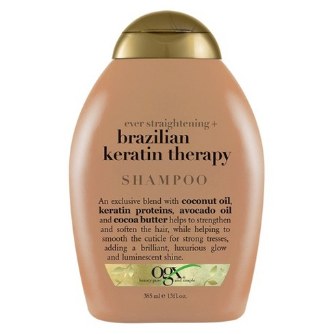 OGX Ever Straightening Plus Brazillian Keratin Therapy Shampoo - 13 fl oz - image 1 of 4