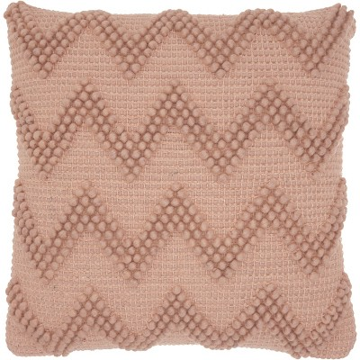 Chevron Oversize Square Throw Pillow Blush - Mina Victory