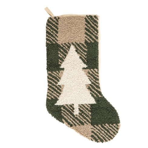 C&F Home Lockley Tree Hooked Stocking - image 1 of 2