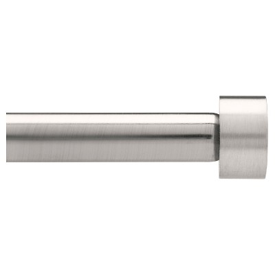 Loft By Umbra Dauntless Curtain Rod Set Brushed Nickel