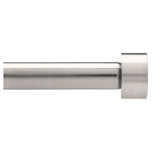 "Dauntless Curtain Rod Set Brushed Nickel 1"" (36""x66"")Loft By Umbra ™ - image 1 of 3"