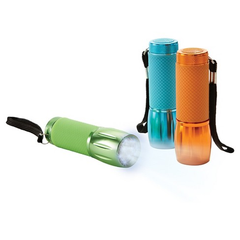Sharper Image - Flashlight 3 pack Glow in the Dark - LED - image 1 of 3
