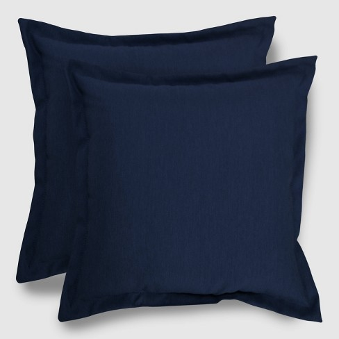 2pk Square Outdoor Pillows - Threshold™ - image 1 of 1